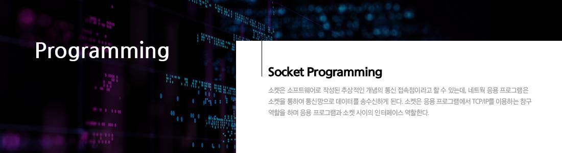 TCP/IP소켓프로그래밍